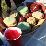 Football Shaped Cookies