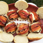 Tailgate Bacon Burgers