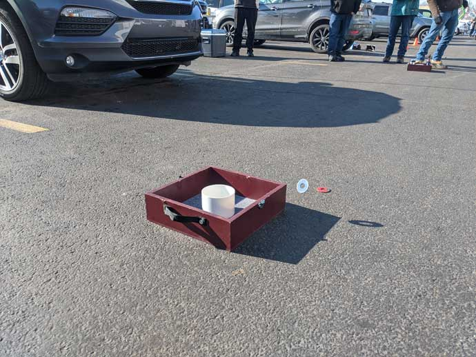 Tailgating Checklist for Packing Essentials like Washers
