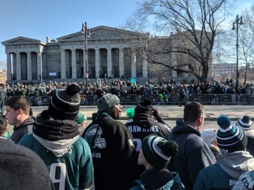 Philadelphia Eagles Super Bowl Parade February 8, 2018