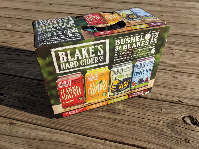 Bushel of Blakes Hard Cider Featuring Flannel Mouth, El Chavo Mango & Habanero, Blake's Grizzly Pear Cider, and Triple Jam!