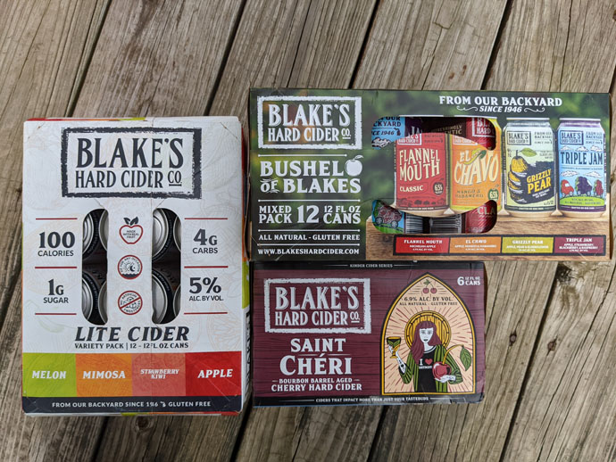 Blake's Hard Cider Reviews - Tailgate Wife