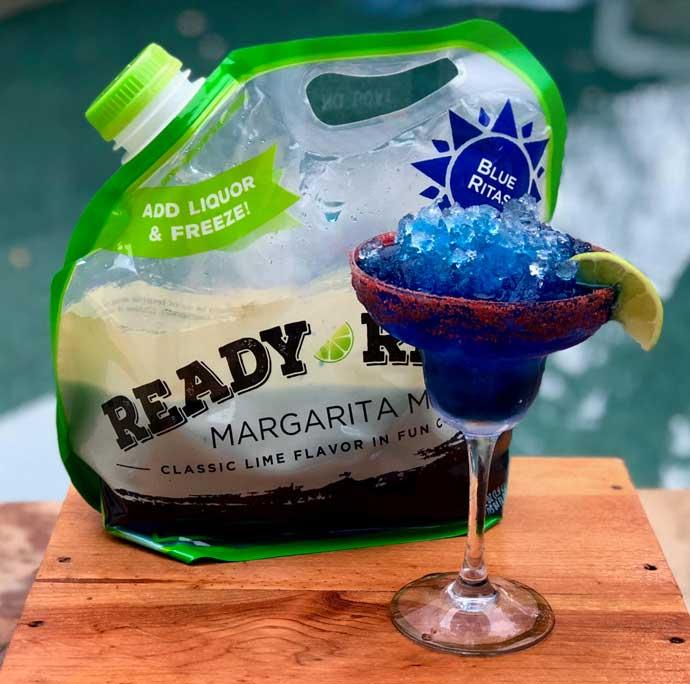 Blue Super Bowl Cocktails - Ready Ritas Blue Mix