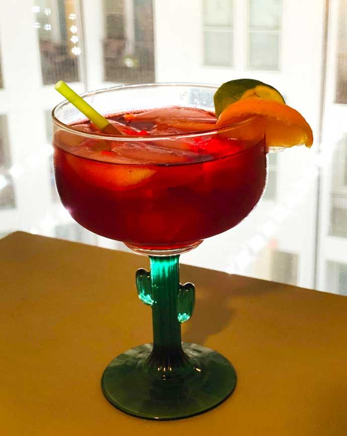 Red Super Bowl Drinks - Ready Ritas Sangria Rita
